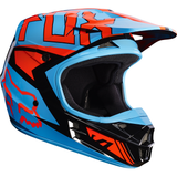 Fox Racing V-1 Falcon Helmet Black/Orange - 1