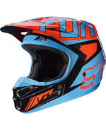 Fox Racing V-1 Falcon Helmet Black/Orange - 2