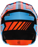 Fox Racing V-1 Falcon Helmet Black/Orange - 3