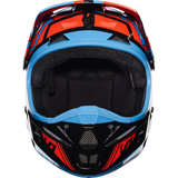 Fox Racing V-1 Falcon Helmet Black/Orange - 4
