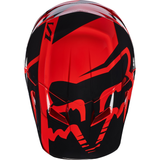 Fox Racing V-1 Race Youth Helmet Red - 5