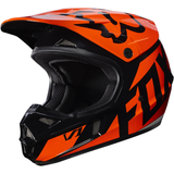 Fox Racing V-1 Race Youth Helmet Orange - 2