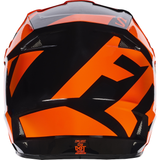 Fox Racing V-1 Race Youth Helmet Orange - 3