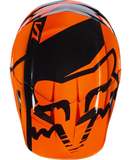 Fox Racing V-1 Race Youth Helmet Orange - 4