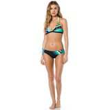 Fox Racing Cozmik Fixed Halter Bikini Top Jade