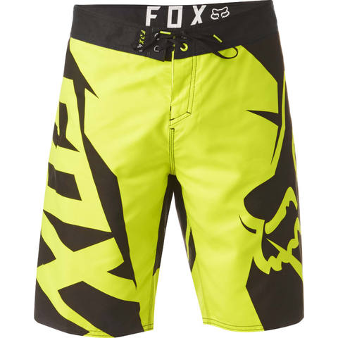 Fox Racing Motion Fracture Boardshort Flo Yellow
