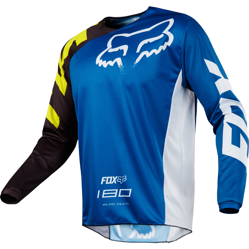 Fox Racing 180 Race Jersey 2018 Blue