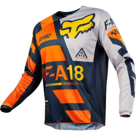 Fox Racing 180 Sayak Jersey 2018 Orange