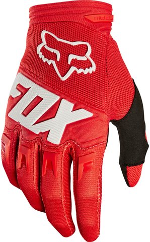 Fox Racing Dirtpaw Motocross Glove Red