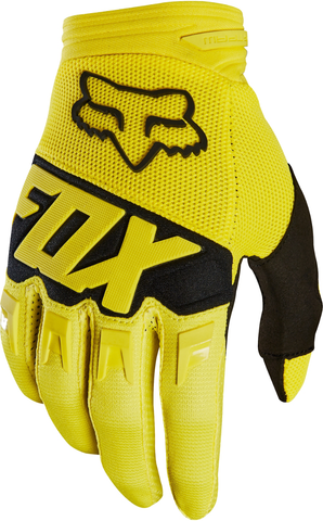 Fox Racing Dirtpaw Motocross Glove Yellow