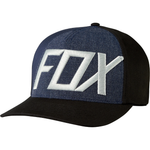 Fox Racing Blocked Out Flexfit Hat Black