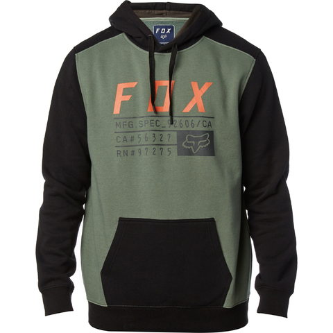 Fox Racing District 3 Pullover Hoody Fatigue