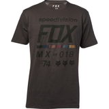 Fox Racing Draftr Premium Tee Black Vintage