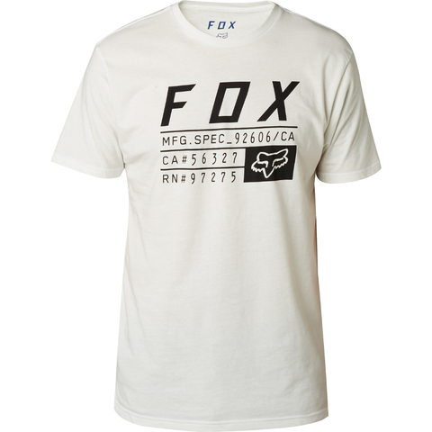 Fox Racing Abyssmal Premium Tee Chalk