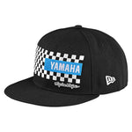 TLD Yamaha Checkers Snapback Black