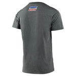 TLD Honda Retro Victory Wing Tee Ash Heather