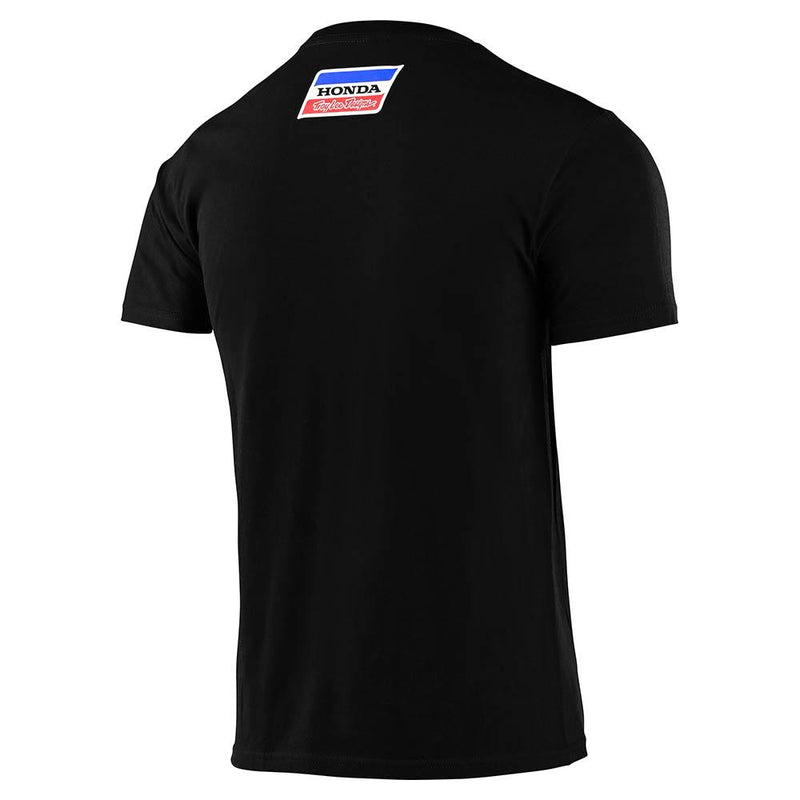 TLD Honda Retro Wing Tee Black