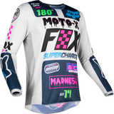 Fox Racing Youth 180 Czar Jersey Grey