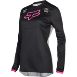Fox Racing Youth Girls Mata Jersey Black Pink