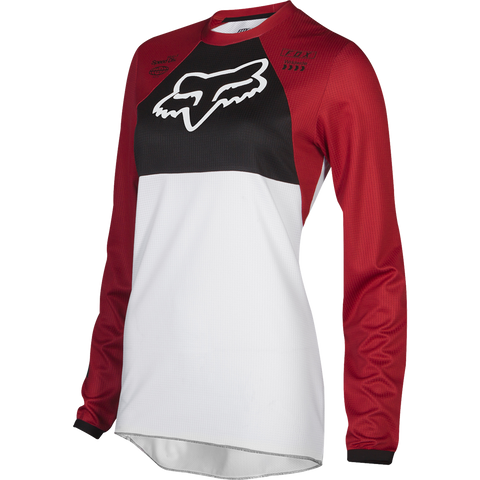 Fox Racing Womens 180 Mata Jersey Cardinal