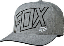 Fox Racing Three 60 Flexfit Hat Heather Grey