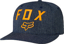 Fox Racing Number 2 Flexfit Hat Heather Midnight