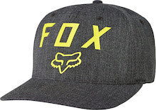 Fox Racing Number 2 Flexfit Hat Black