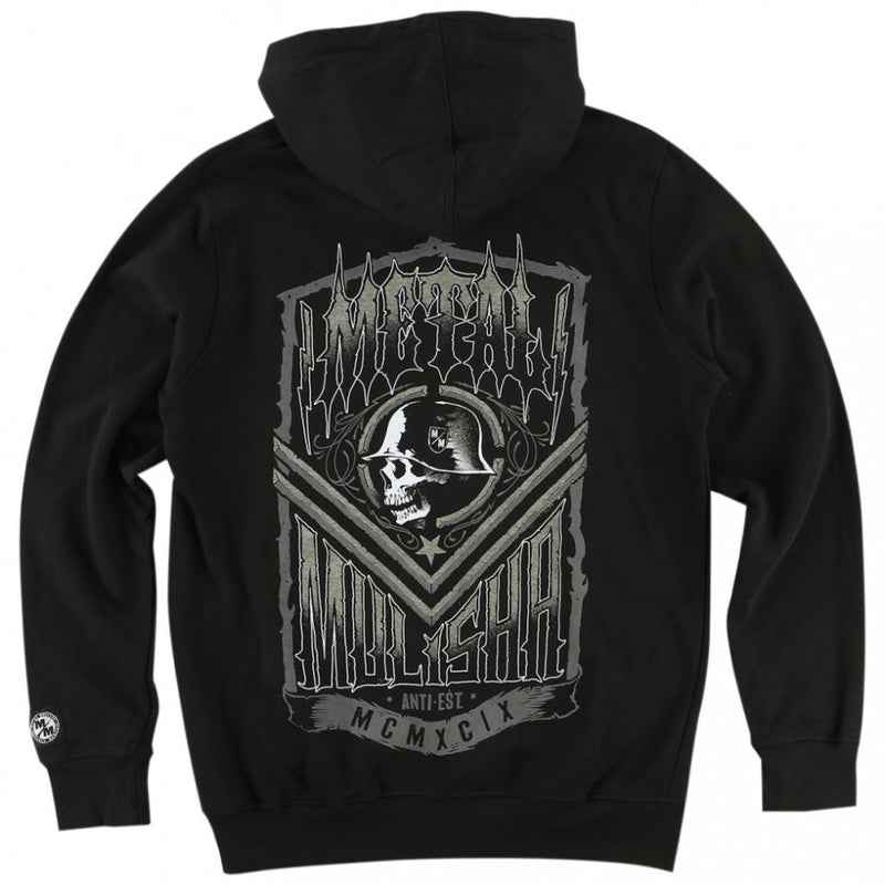 Metal Mulisha Smash Zip Fleece Black