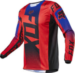 Fox Youth 180 Oktiv Jersey Flo Red