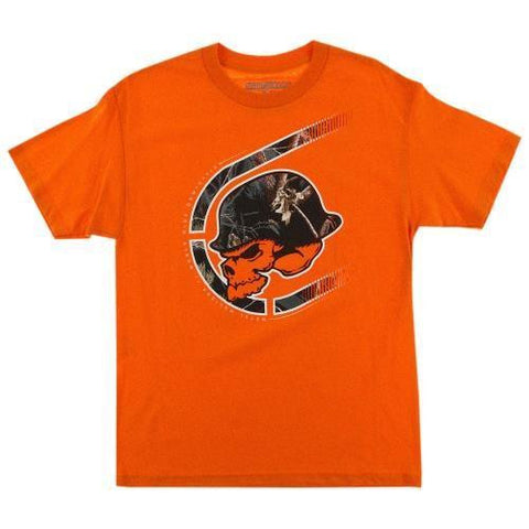 Metal Mulisha Black Out Tee Orange