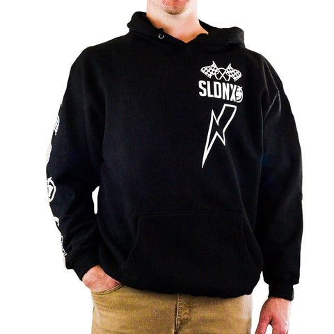 Slednecks Badge Of Honor Pullover Hoody Black