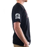 Slednecks Rough Cut Tee Shirt Black