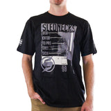 Slednecks Outlaw Tee Shirt Black