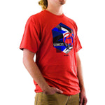 Slednecks Hex Tee Shirt Red