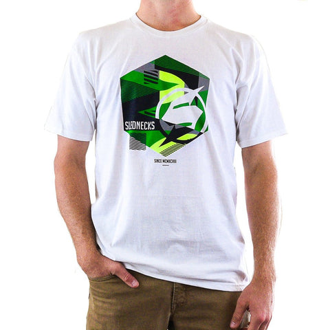 Slednecks Hex Tee Shirt White