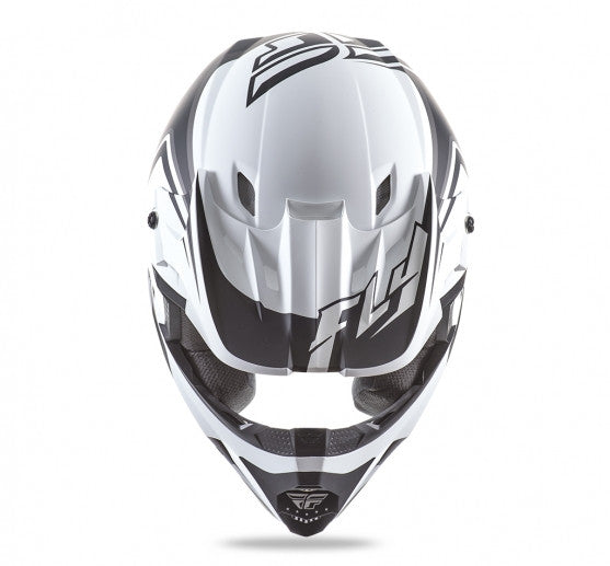 Fly Racing Kinetic Fullspeed Helmet Matte White - 3
