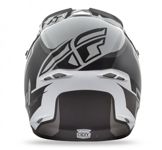Fly Racing Kinetic Fullspeed Helmet Matte White - 4