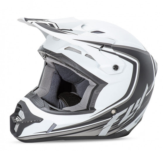 Fly Racing Kinetic Fullspeed Helmet Matte White - 1