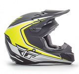 Fly Racing Kinetic Fullspeed Helmet MtBlk/Hi Vis - 2
