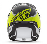 Fly Racing Kinetic Fullspeed Helmet MtBlk/Hi Vis - 4