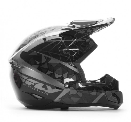 Fly Racing Kinetic Crux Helmet Black - 2