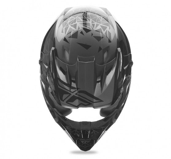 Fly Racing Kinetic Crux Helmet Black - 3