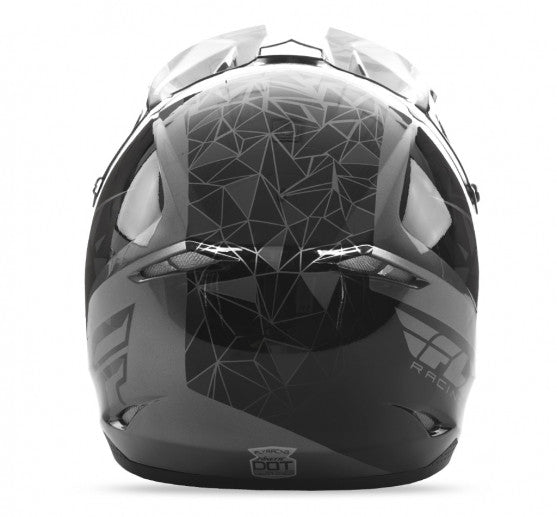 Fly Racing Kinetic Crux Helmet Black - 4