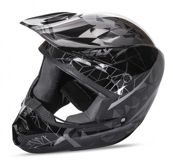 Fly Racing Kinetic Crux Helmet Black - 1