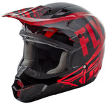 Fly Racing Kinetic Burnish Helmet Red