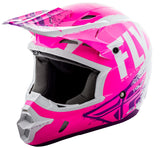 Fly Racing Kinetic Burnish Helmet Neon Pink