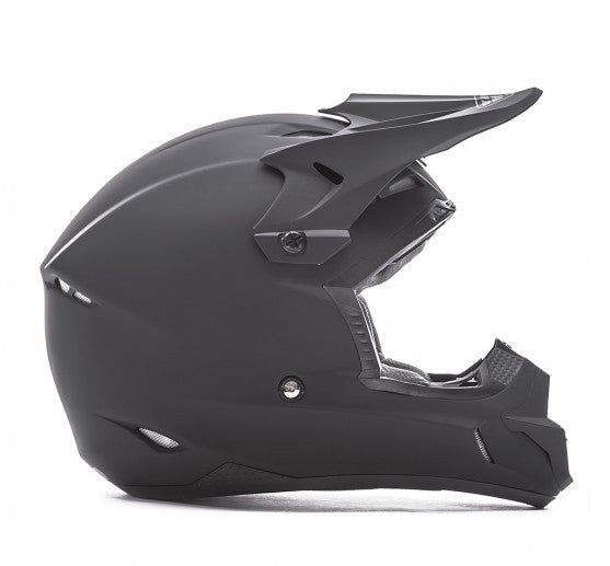Fly Racing Kinetic Solid Helmet Matte Black - 2