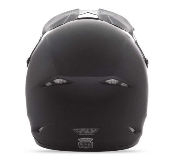 Fly Racing Kinetic Solid Helmet Matte Black - 4