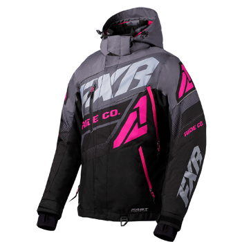 FXR Boost FX Womens Jacket Black/Char/Fuchsia