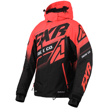 FXR Boost FX Womens Jacket Black/Coral